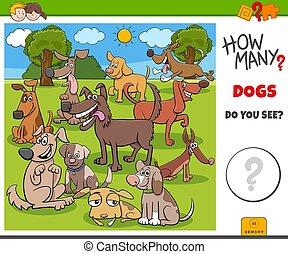 molti, gioco capretti, come, educativo, cani