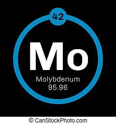 Molybdenum chemical element. Has sixth-highest melting point...