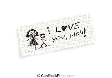 mom!, tu, amor