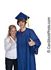 mom with graduate