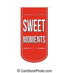 momenti, dolce, disegno, bandiera