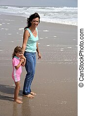 Mommy & me at the sea