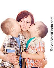 mon, amour, mother!, baiser