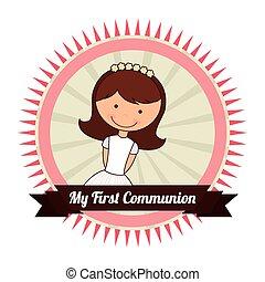 mon, communion, premier