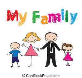mon, famille