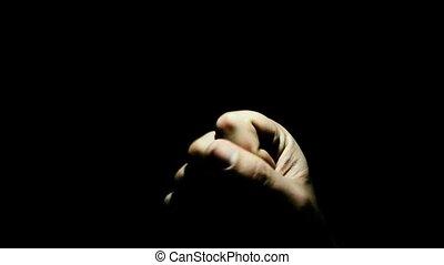 """mon, vide, mot, """"emptiness, hand"""""""