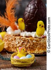mona, ellen-, pascua, spanyol, torta, evett, képben látható,...