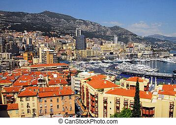 Monaco and Monte Carlo Kingdom - Panorama of La Condamine ...