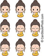 monaco buddistico