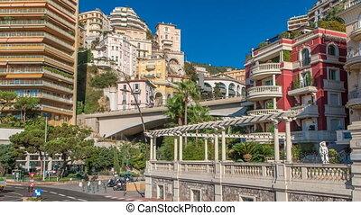 Monaco church Sainte Devote bridge principality mountain...