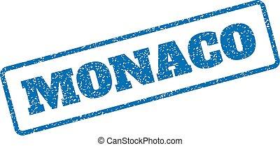 Monaco Rubber Stamp