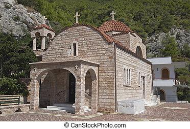monastère, rue., patapios
