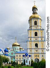 monastère, ukrainien, orthodoxe