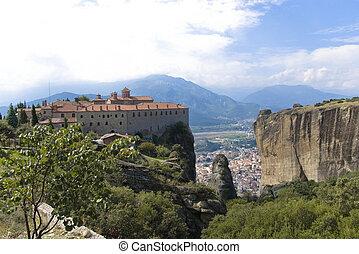 "The Monastery ""St. Stephen"", Meteora, Greece"