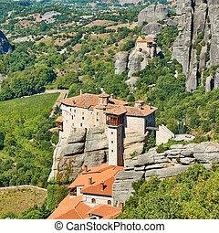 Monasteries of Rousanou and of Agios Nikolaos in Meteora - ...
