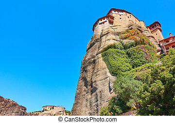 Monasteries of Rousanou and Varlaam iin Meteora in Greece - ...