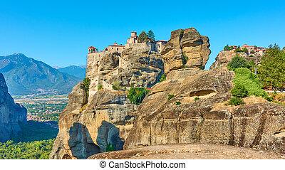 Monasteries of Varlaam and The Great Meteoron in Meteora - ...