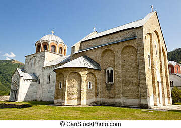 monasterio, balkans., -, studenica, serbia