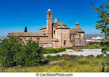 Monasterio de la Cartuja in Granada, Andalusia, Spain - ...