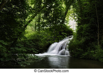 Monasterio de piedra waterfall - Beauty waterfall of ...