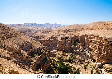 monasterio, desierto