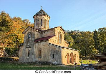 monasterio, gelati, iglesia