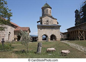 monasterio, georgia, gelati