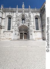 monasterio, hieronymites, detalle