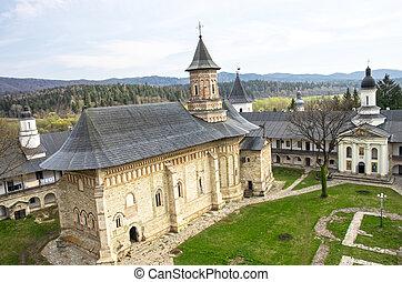 monasterio, medieval, ortodoxo