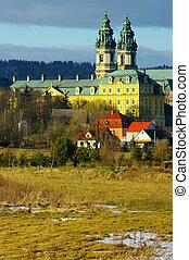 monasterio, polonia, krzeszow