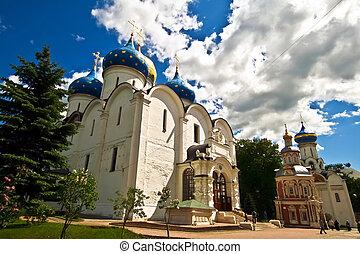 monasterio, posad, sergiev, rusia