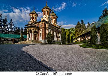 monasterio, rumania, sinaia