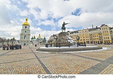 monasterio, s., sofia, kiev