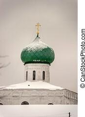 monasterio, santo, svirsky, trinidad, rusia, leningrado, 01....