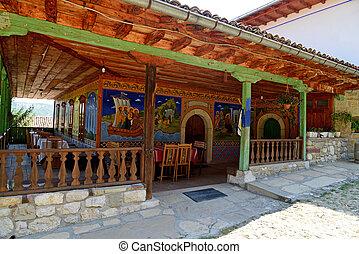 monasterio, transfiguration, bulgaria, veliko, tarnovo