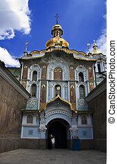 monastero, lavra, kiev-pechersk, ortodosso