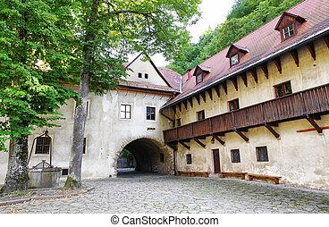Monastery Cerveny Klastor, Slovakia - Cerveny Klastor - Red...