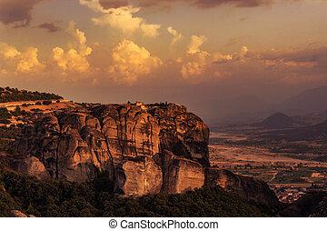 Monastery in the Greek Meteora
