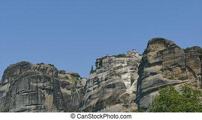 Monastery Meteora, Greece Thessaly - Holy Monastery Varlaam...