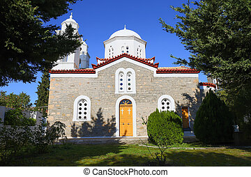 monastery of Agios Ioannis inside Koroni fortress, ...