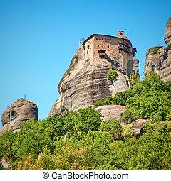 Monastery of Agios Nikolaos  - Greek landmark - The ...