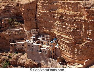 Monastery of St. George, Wadi Qilt - Monastery of St. George...