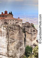 Monastery of St. Stephen in Meteora, Greece
