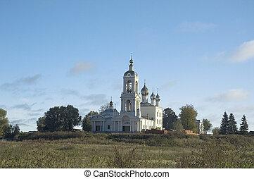 Monastery of The Cross. Russia