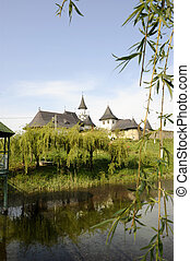 monastery on the lake