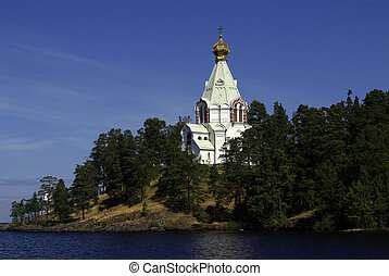 monastery on Valaam in the Republic of Karelia, Russia