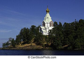 monastery on Valaam in the Republic of Karelia, Russia