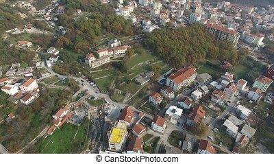 Monastery Podmaine, in Montenegro, Budva, Adriatic Sea and...