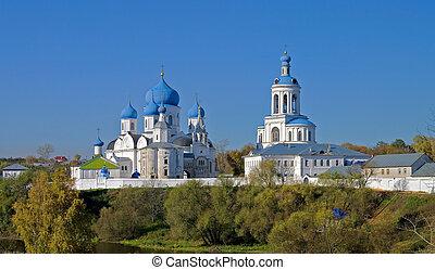 monastery., santo, bogolyubov