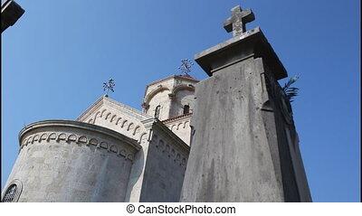 Monastery Savina, tombs